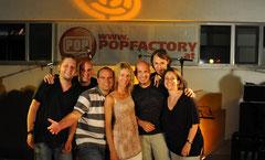 Referententeam der Popfactory 2010               Foto: Christian Reichel