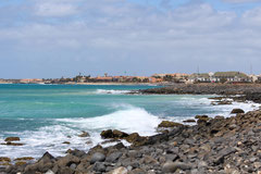 Blick vom Kap in Richtung Surfstation
