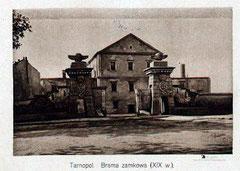 Ворота замку початок XXст.