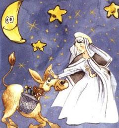 Santa Lucia e l'asinello