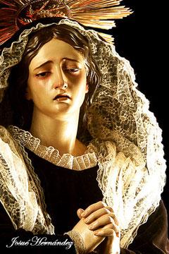 Nuestra Señora de los Dolores. (1816). Fernando Estévez de Salas (1788-1854). Parroquia de San Juan Bautista, La Orotava.