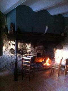 L'antiga cuina i forn de pà