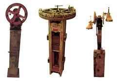 Maschinen-Triptychon von Kai Wolf
