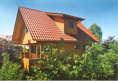 Das Ferienhaus im grünen Garten