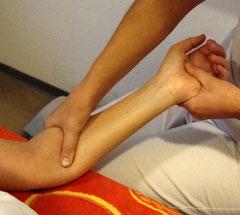 medizinische Massage, Lymphdrainage Baumert