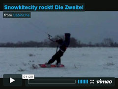 Video - Snowkiten in Nienhagen