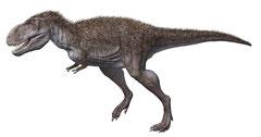 タルボサウルス生体復元図