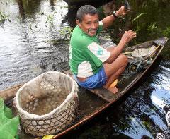 Fischer am Rio Negro