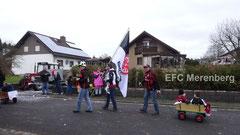 Der EFC beim Faschingsumzug 2016 in Merenberg