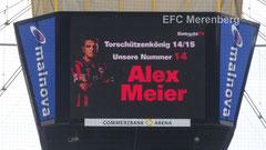 Alex Meier wird Torschützenkönig der Saison 2014/15