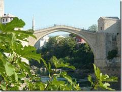 Stari most – die alte Brücke in Mostar