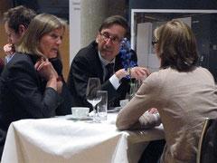 Botschafter Staffan Carlsson im Gespräch. /          Foto: Schwedische Botschaft