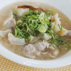 蓮根スープ