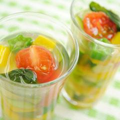 夏野菜のジュレ