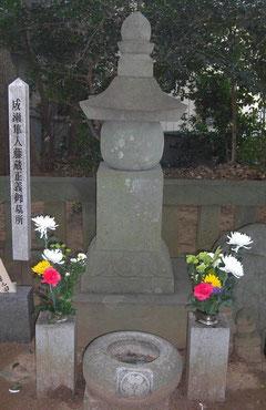 成瀬藤蔵正義墓所