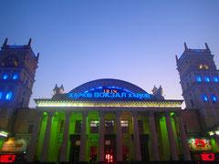 The railway station in Kharkiv