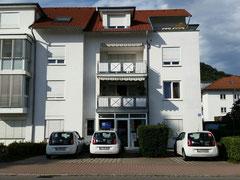 Das Verwaltungsgebäude der Sozialstation in der Grenzacher Baslerstrasse