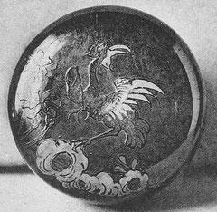 Planche IIIa. Boîte. M.-J. BALLOT : Les laques d'Extrême-Orient : Chine et Japon. G. Vanoest, éditeur, Paris et Bruxelles, 1927.