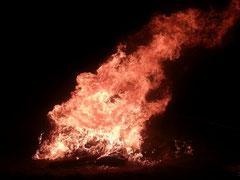 Unser Lagerfeuer am bunten Abend