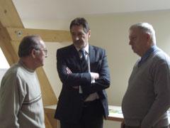 OB Jann Jakobs im Gespräch mit Manfred Miethke und Hans Sciborski