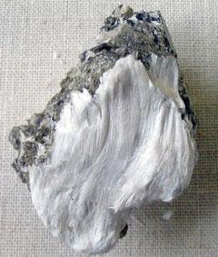 L'amiante sous sa forme naturelle