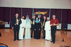 International Brass und die Horngruppe des Royal Oman Symphonie Orchestra