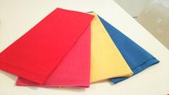 赤、ピンク、黄色、青 鮮やかですね