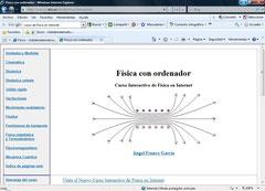CURSO DE FISICA POR INTERNET