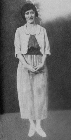 Irene at eighteen