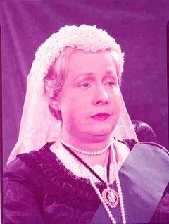 """as Queen Victoria in """"The Mudlark"""""""