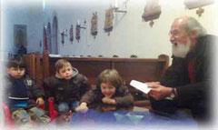Dechant Fischer zu Gast in St. Joseph  - Vorlesestunden für unsere Kleinsten
