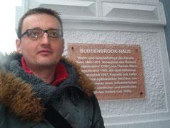 Igor Perišić bei einem Forschungsaufenthalt in Deutschland