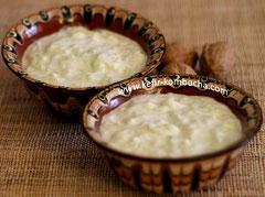 kefir de lait tzatziki