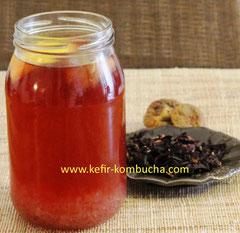 kefir de fruits au thé