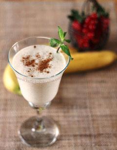 banane frappée au kefir de lait