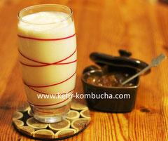 kefir au lait végétal soja