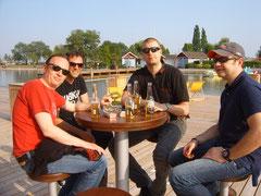 Chillen bei der Ausfahrt zum Neusiedlersee!