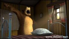 Медведь сладко зевнул, потянулся...