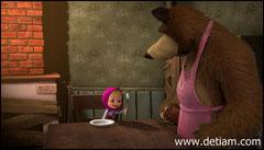 """Маша стучала ложкой по столу и громко кричала: - """"Кашу! Кашу!"""""""