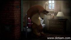 Просыпайся! Маше удалось приподнять Медведя и усадить на кровати