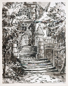 1676; Treppe in Beilstein