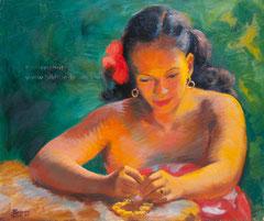 La Fille aux Bijoux 1953, Tahiti