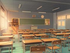 教室(昼)