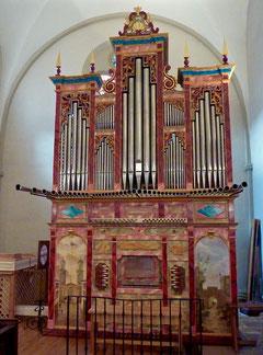 orgue ibérique de Guentrange