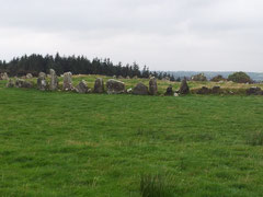 Beltany Stonecircle bei Raphoe, Irland