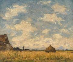 Braquaval, Champ de blé, Musée d'Abbeville, © Bréjat-RMN