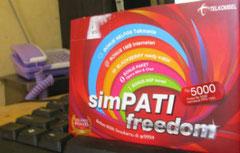 carte de sim simPati Telkomsel