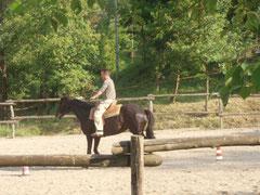 乗馬経験者のおじさん