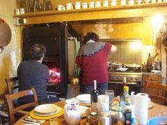 マエストロ宅の台所