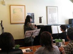 柳都ミュージック開催中、クラシックのSax五十嵐さん